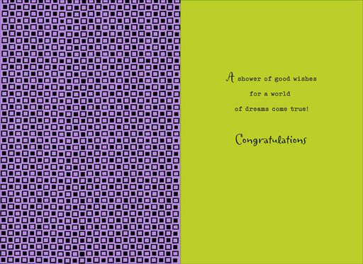Happy New Daddies Baby Shower Card,