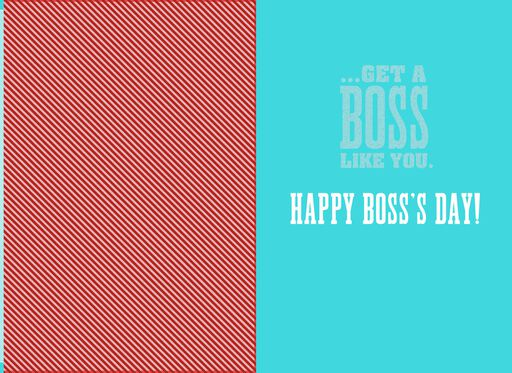 Lucky Few Boss's Day Card,