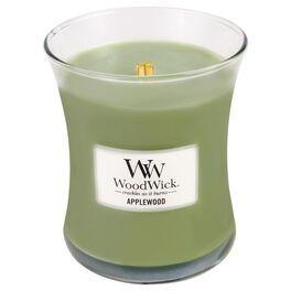 WoodWick® Applewood Medium Candle, 10 oz, , large