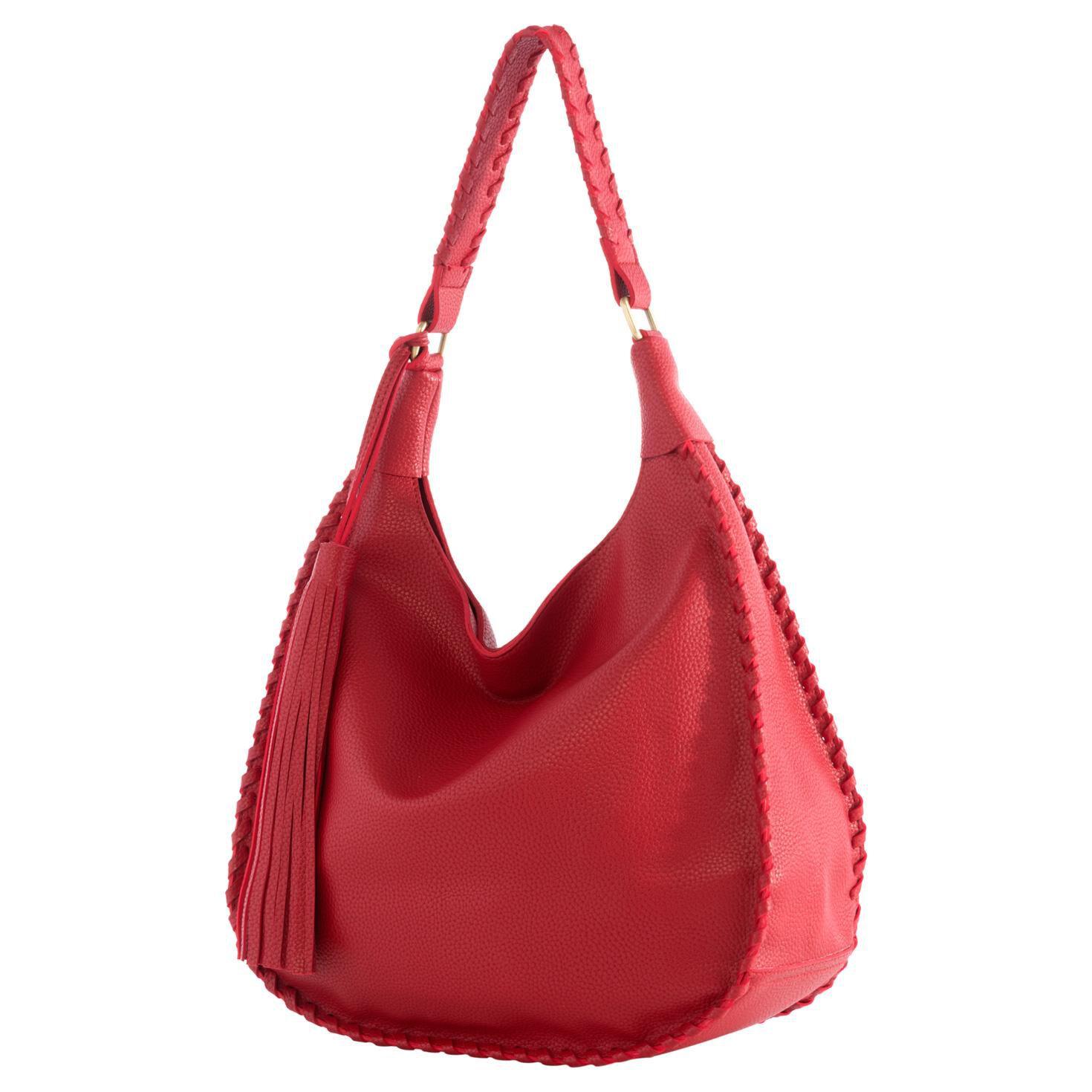 Mark & Hall Red Hobo Bag - Sale - Hallmark