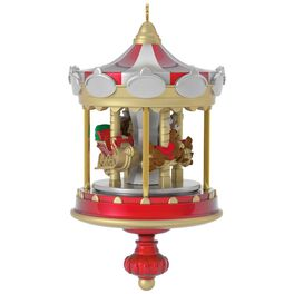 Christmas Carousel Mini Ornament, , large
