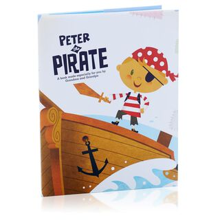 Pirate Personalized Book,