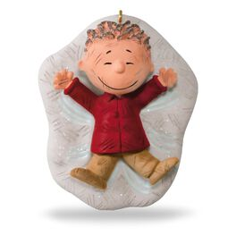 The PEANUTS® Gang Pig-Pen's Snow Angel Ornament, , large