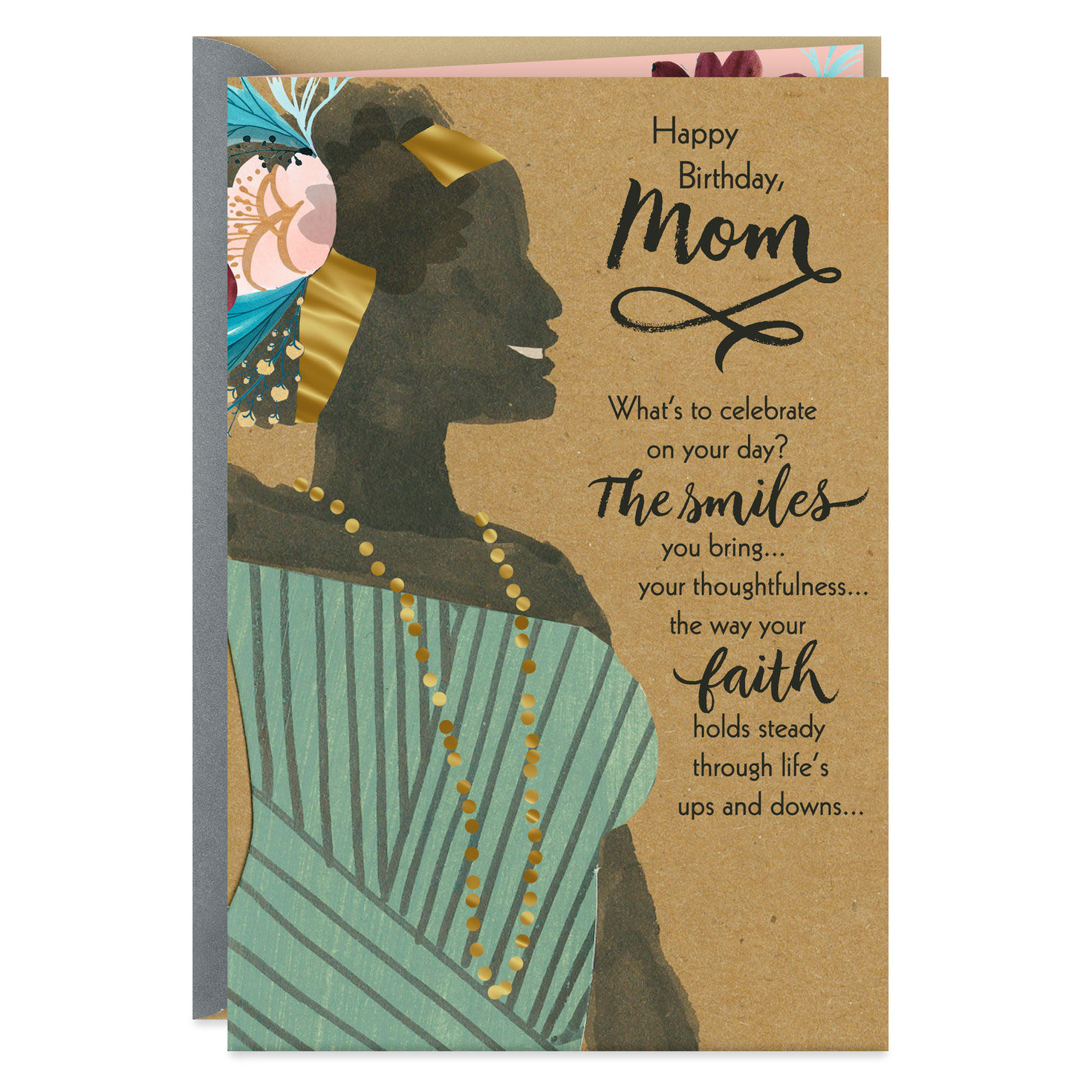 Memorial Card Get the Blessing Mum Birthday Card Present Special Gift