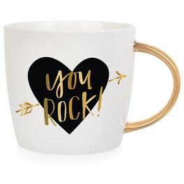 """""""You Rock"""" Mug, 14 oz., , large"""