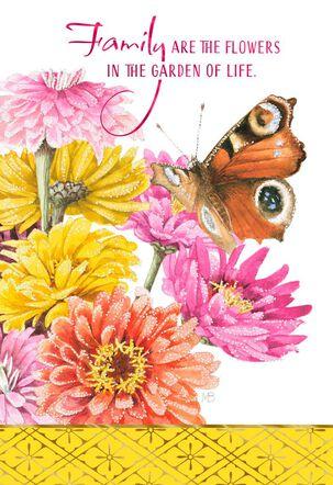 Marjolein Bastin Garden of Life Birthday Card