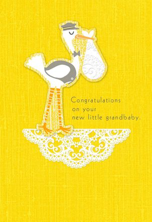 Lifetime of Wonderful New Baby Grandchild Card