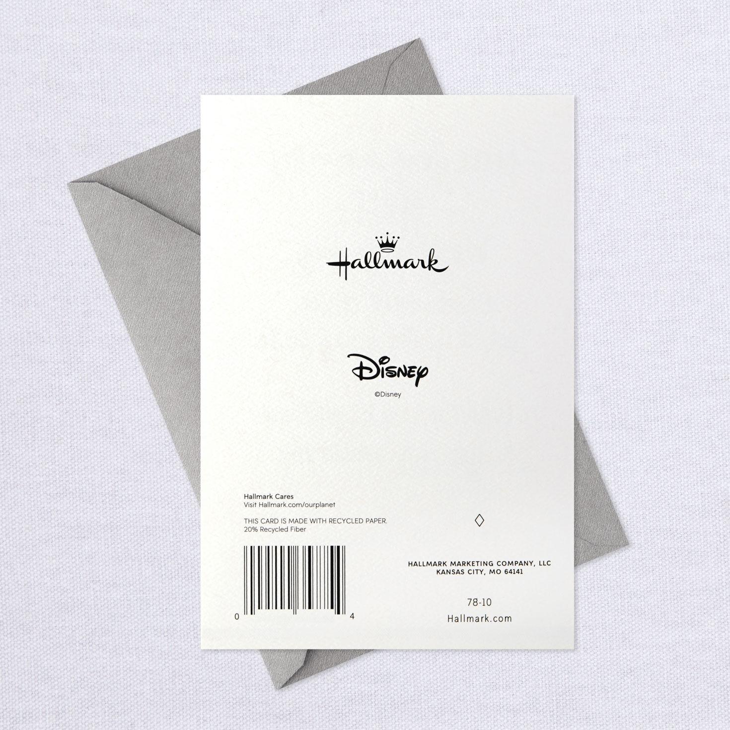 Hallmark Disney Graduation Card