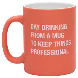 About Face Day Drinking Mug, 16 oz., , large