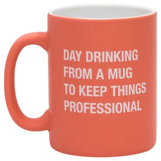 About Face Day Drinking Mug, 16 oz.,