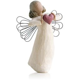 Willow Tree® Angel With Love Heart Figurine, , large