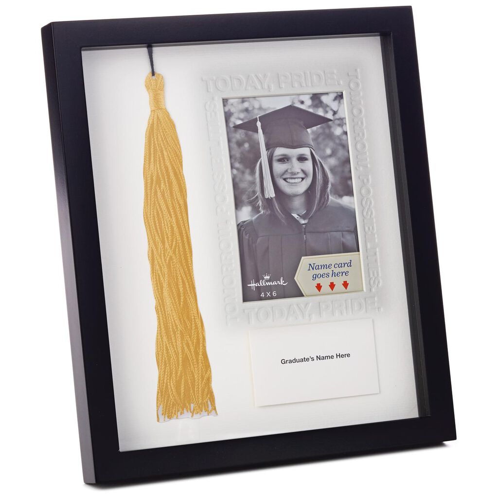Dated Tassel Keeper and Photo Holder - Picture Frames - Hallmark