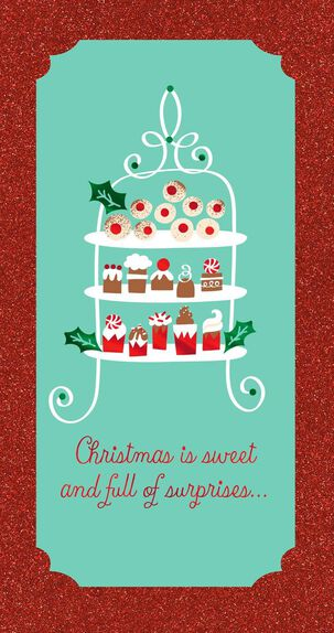 Sweets for All Christmas Card Money Holder