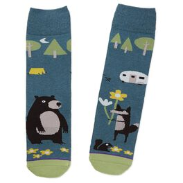Camping Toe of a Kind Socks, , large