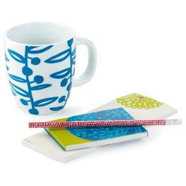 Garden Sweet Ceramic Mug and Notepad Gift Set, , large