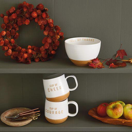 Cup Of Calm Stoneware Mug 16 Oz