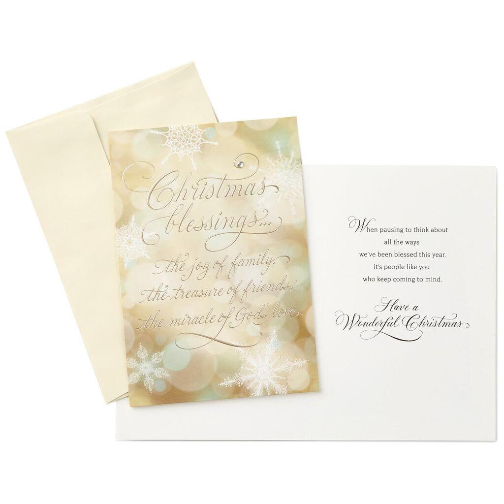 Christmas Blessings Christmas Cards, Box of 12 - Boxed Cards - Hallmark
