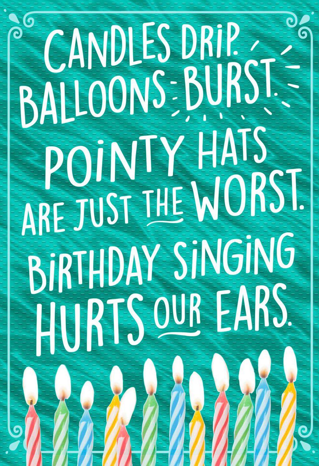 Beer Poem Birthday Card Greeting Cards Hallmark
