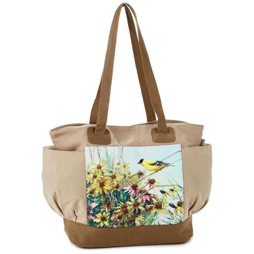 110cdda7c68a Marjolein Bastin Goldfinch Tote Bag