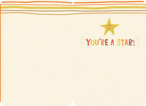 You're a Star Congratulations Card,