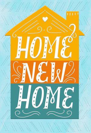 Home New Home Congratulations Card