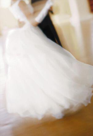 Dancing Couple Blank Wedding Card