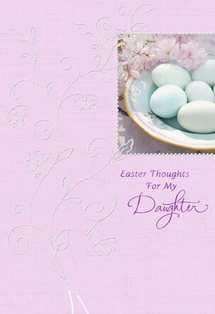 For My Daughter Easter Card