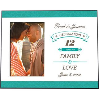 Celebrating Personalized 4x6 Picture Frame,