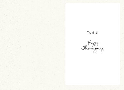 For Our Son Thanksgiving Card,