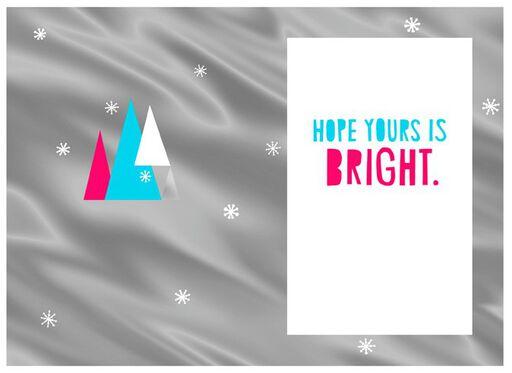 Neon Trees Christmas Card,