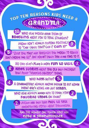 Grandma's Unconditional Love