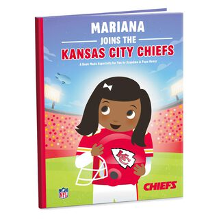 NFL Football Personalized Book,