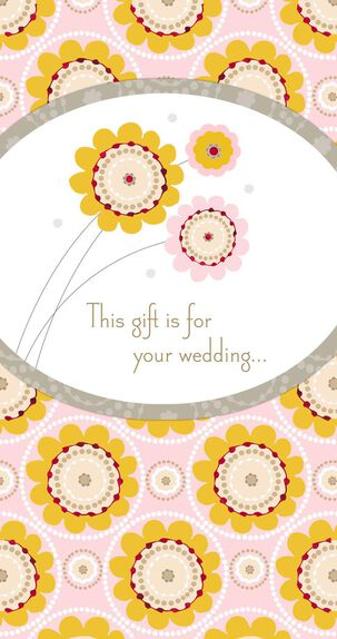 Best Wishes for Always Money Holder Wedding Card