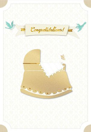 Once Upon a Time Baby Card