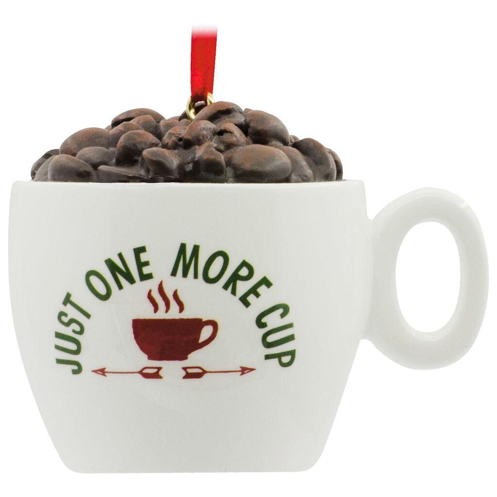 Coffee Christmas Ornament.Coffee Lover Hallmark Ornament