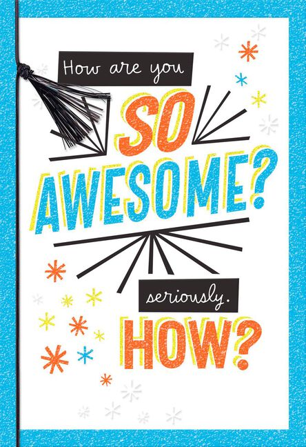 So Awesome Thank You Card Greeting Cards Hallmark
