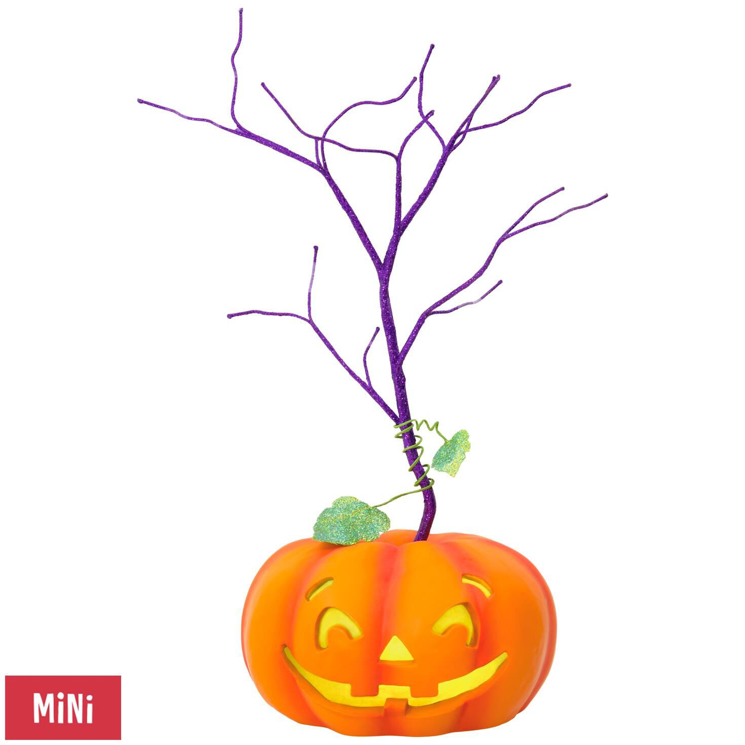 Halloween Miniature Keepsake Ornament Tree With Light - Keepsake ...