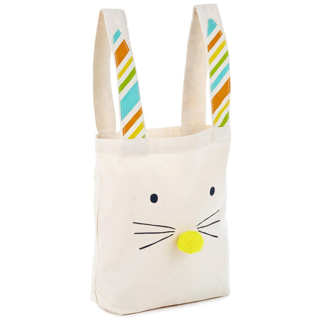 Easter bunny canvas gift bag 103 gift bags hallmark easter bunny canvas gift bag negle Images