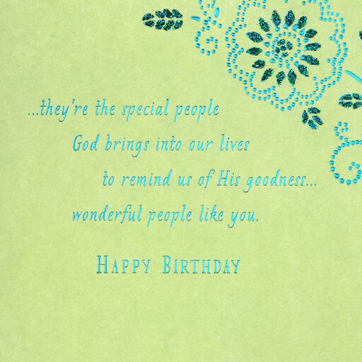 Youre A Special Person Birthday Card