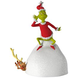 Dr. Seuss's How the Grinch Stole Christmas!™ Welcome Christmas Musical Ornament, , large