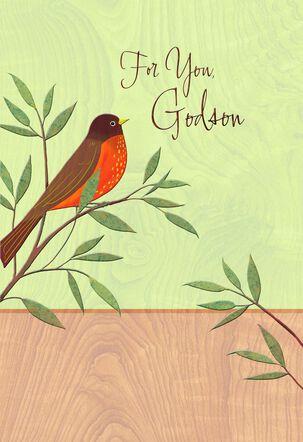 Wonderful Godson Easter Card