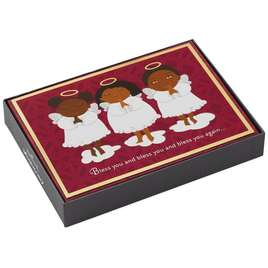 Angels and Blessings Christmas Cards, Box of 16 - Boxed Cards - Hallmark