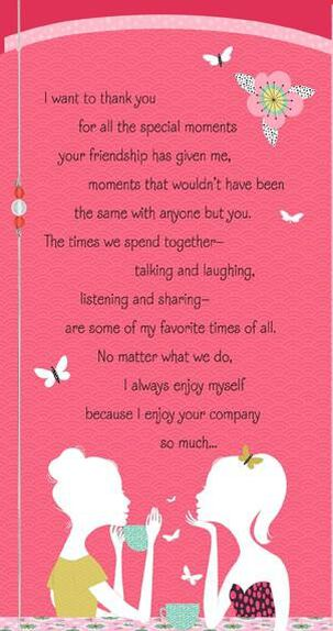 Girlfriends Special Moments Valentine's Day Card