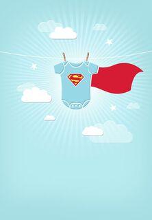 Felicidades por Su Pequeño Héroe - Superman™,