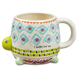 Natural Life Folk Art Mug Turtle, 16 oz., , large