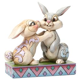 Jim Shore Twitterpation—Thumper and Miss Bunny Figurine, , large