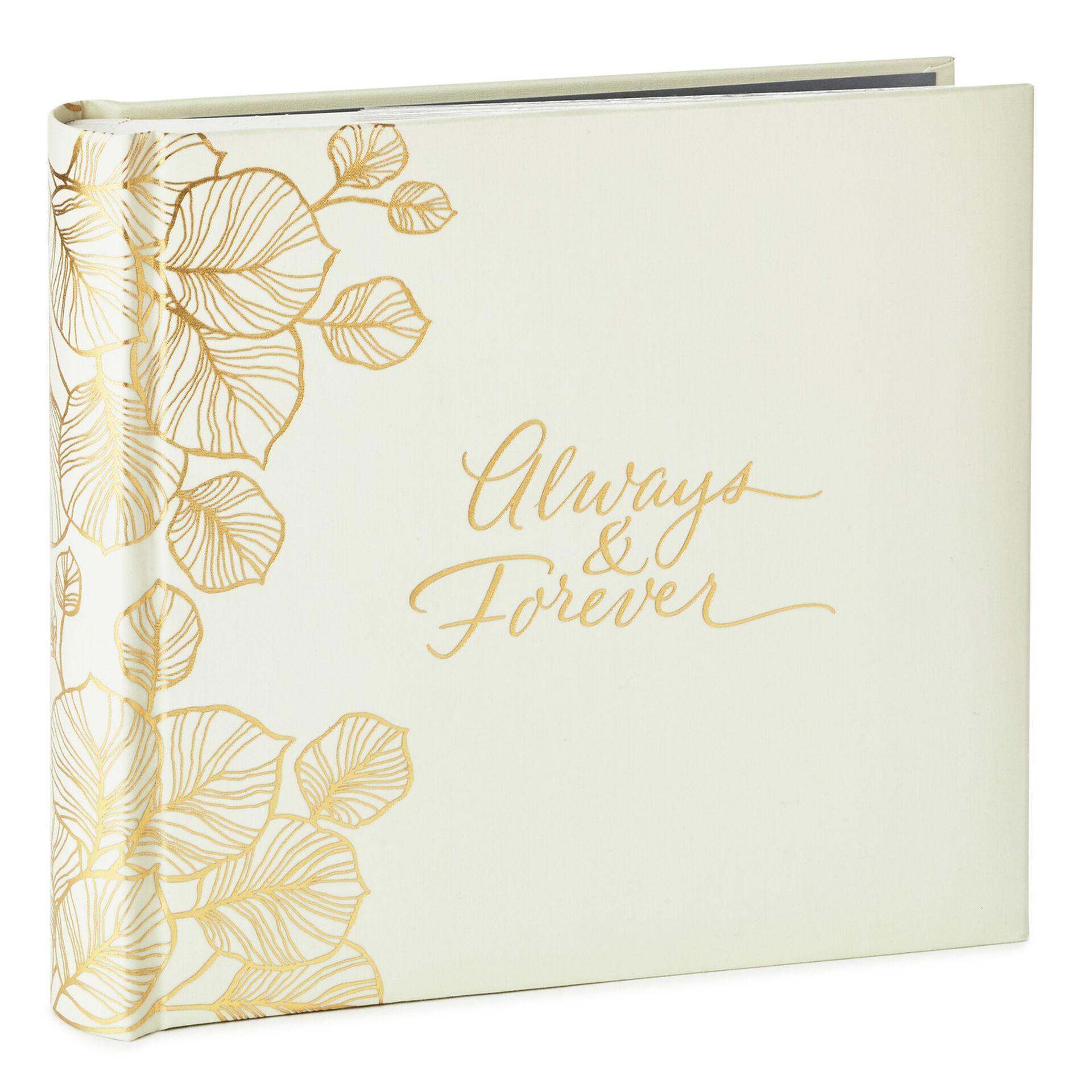 Always Forever Wedding Photo Album Photo Albums Hallmark