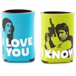 Star Wars™ Han Solo™ and Princess Leia™ Drink Sleeves, Set of 2, , large