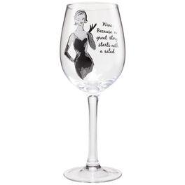 No Great Story Lolita® 15 oz. Wine Glass, , large