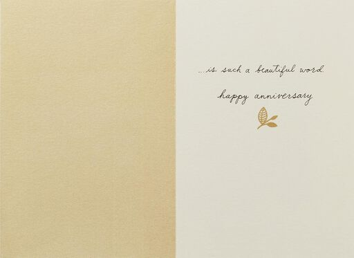 Lovebirds Together Anniversary Card,
